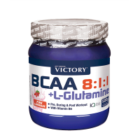 BCAA 8:1:1 + L-Glutamine - 500g