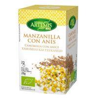 Manzanilla and anise infusion - 20 sachets