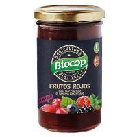 compota frutos rojos biocop 280 g
