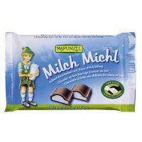 Milk chocolate snack milch rapunzel - 100g