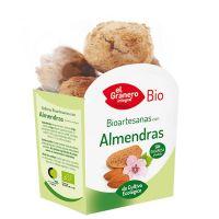 Bio Handmade Almond Cookies - 250 g El Granero Integral - 1