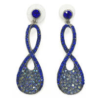 8-shaped Earrings - Saleyla Saleyla - 2