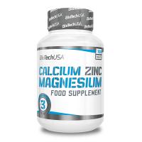Calcium Zinc Magnesium - 100 Tablets