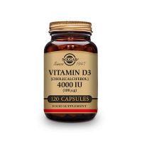 Vitamin d3 (cholecalciferol) 4000 iu (100mg) - 120 capsules