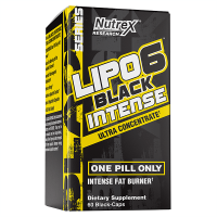 Black Intense Lipo 6 - 60 capsules