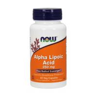 NOW Foods Alpha Lipoic Acid 250mg - 60 Caps (Alpha Lipoic Acid)