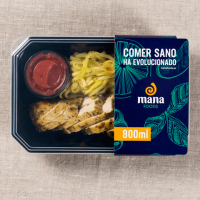 Zucchini pasta with chicken strips - Mana Foods ManaFoods - 1