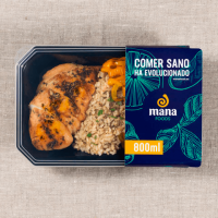 Chicken with basmati rice and mixed vegetables - Mana Foods ManaFoods - 1