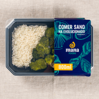 Chicken with rice and broccoli - Mana Foods ManaFoods - 1