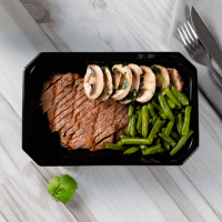 Chimichurri Steak with Green Beans and Mushrooms - Mana Foods ManaFoods - 1