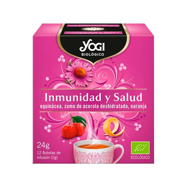 Immunity and health - 12 sachets Yogi Organic - 1