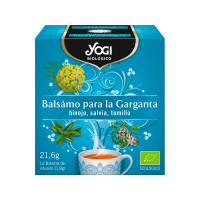 Throat Balsam - 12 sachets Yogi Organic - 1