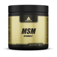 Msm - vitamin c - 120 capsules Peak - 1
