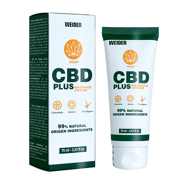 CBD Plus Massage Cream - 75 ml Weider - 1