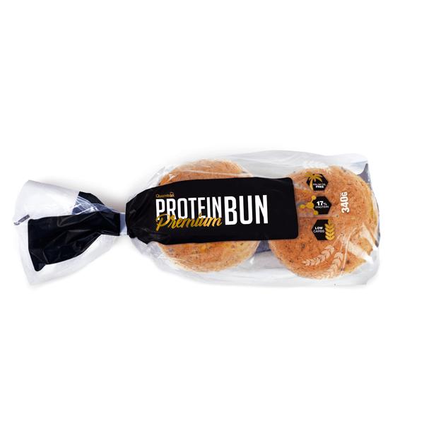 Protein bun premium - 4 uds Quamtrax - 1