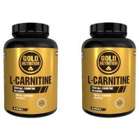 Duo Pack l-carnitine 750mg - 2x60 caps GoldNutrition - 1