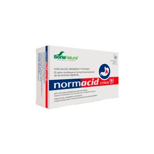 Normacid Citrus - 32 tablets Soria Natural - 1