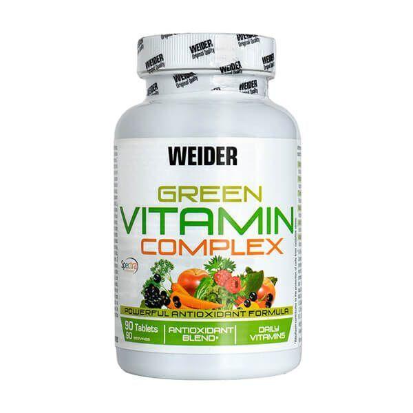 Green Vitamin Complex - 90 tablets Weider - 1