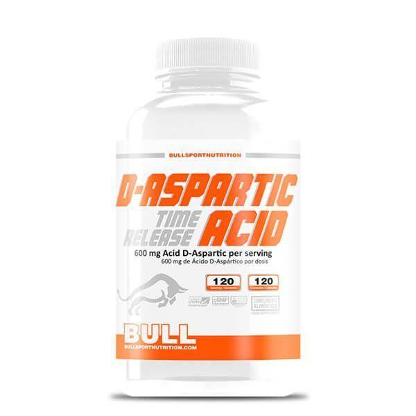 D - aspartic acid - 120 capsules Bull Sport Nutrition - 1