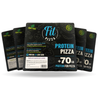 Pack of 5 fit protein pizzas  Fitness Burger - 1