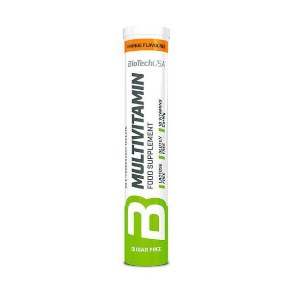 Multivitamin - 20 effervescent tablets Biotech USA - 1