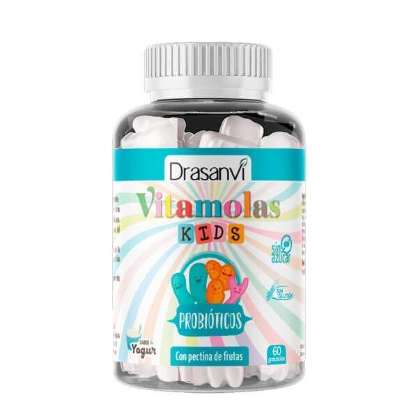 Probiotic Vitamolas for Children - 60 gummies Drasanvi - 1