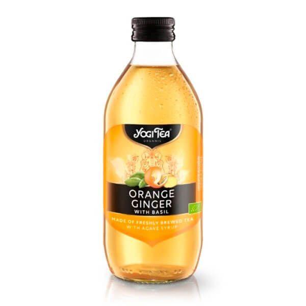 Yogi tea orange ginger with basil - 330ml Yogi Organic - 1