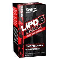Lipo - 6 Black Ultra Concentrate - 60 capsules Nutrex - 1