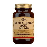 Alpha Lipoic Acid 120 mg - 60 Vcaps Solgar - 1