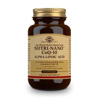 Nutri-Nano CoQ10 Alpha Lipoic Acid - 60 Softgel Solgar - 1