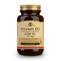 Vitamin D3 (Cholecalciferol) 2200IU (55 mcg) - 100 vegetable capsules Solgar - 1