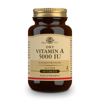 Dry Vitamin A 5000IU - 100 tabs Solgar - 1