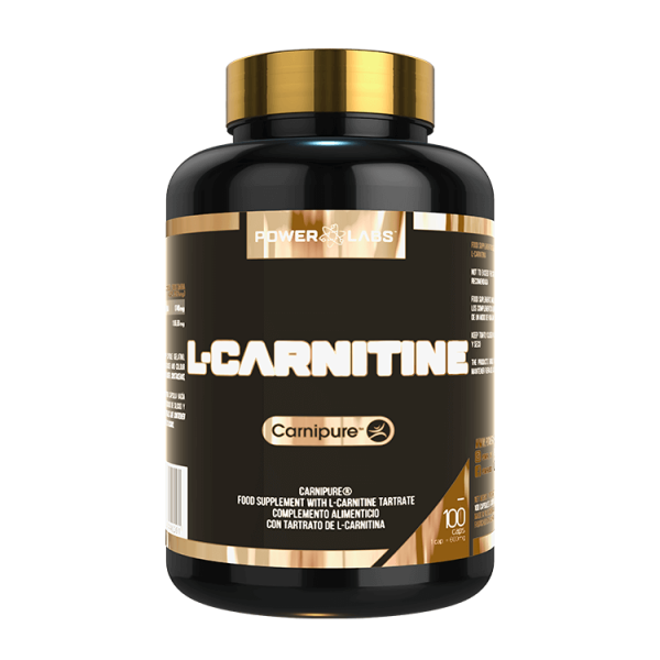 L-Carnitine - 100 capsules Power Labs - 1