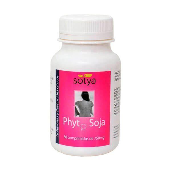 Phytosoja 750mg - 80 tablets Sotya Health Supplements - 1