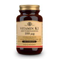 Vitamin K 100mg - 100 tabs Solgar - 1