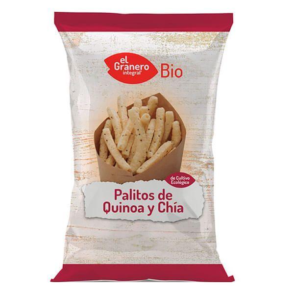 Quinoa and chía bio sticks - 75g