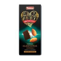 Dark chocolate with almonds zero - 150g