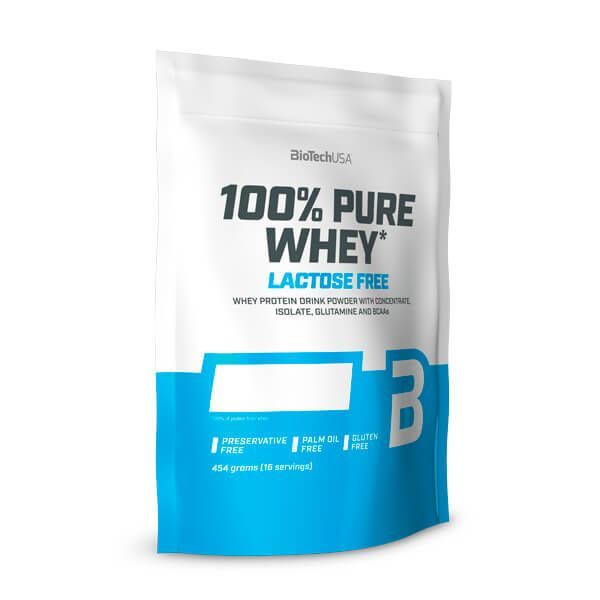 100% Pure Lactose-Free Whey - 454 g