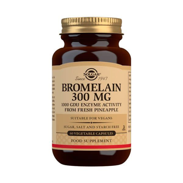 Bromelain 300mg - 60 vegetable capsules
