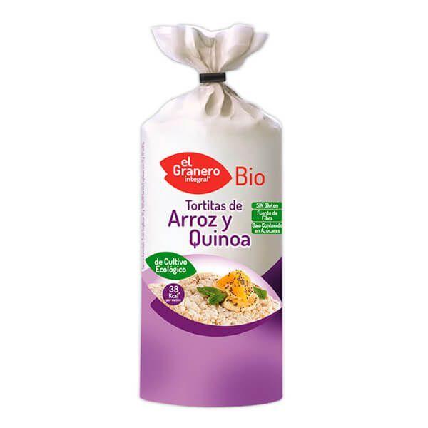 Bio rice and quinoa pancakes - 120g