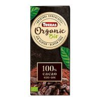 100% cocoa dark chocolate tablet - 100g