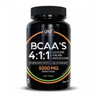 Bcaa 4:1:1 + l-glutamine - 180 tablets