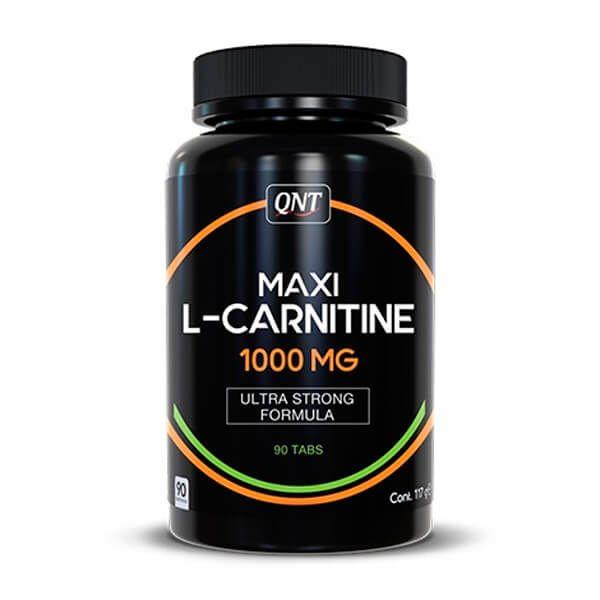 Maxi l-carnitine 1000mg - 90 tablets