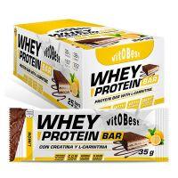Whey Protein + L-Carnitine Bar