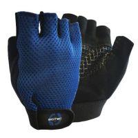 Blue basic gloves