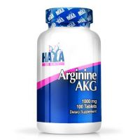 Arginine AKG 1000mg - 100 tablets Haya Labs - 1