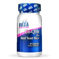 Co-q10 60mg and red yeast rice 500mg - 60 caps