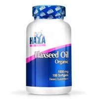 Flax seed oil organic 1000mg - 100 softgels